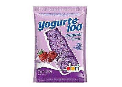 Bala Yogurte Sabor Frutas Vermelhas Dori 600g
