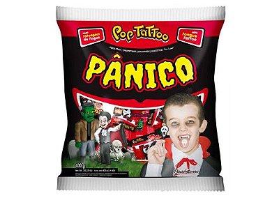 PIRULITO POP TATTOO PÂNICO TUTTI FRUTTI 400g