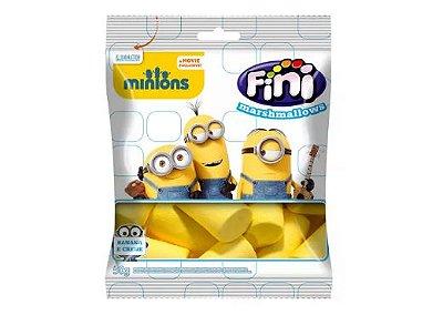 Marshmallow Fini Minions Contendo 3 Pacotes de 50g