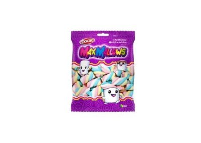 Marshmallow Docile Maxmallows Colorido 250g