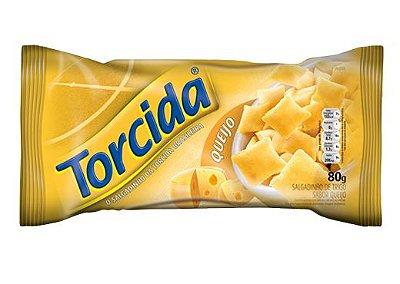 SALGADINHO TORCIDA SABOR QUEIJO 3 UNIDADES DE 80g