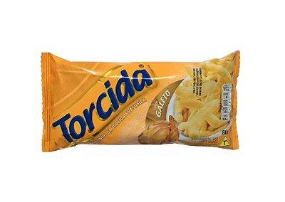 SALGADINHO TORCIDA SABOR GALETO 3 UNIDADES DE 80g