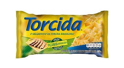 SALGADINHO TORCIDA SABOR PICANHA 3 UNIDADES DE 80g