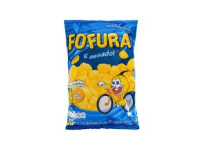 SALGADINHO FOFURA CONCHINHA SABOR PRESUNTO 50g