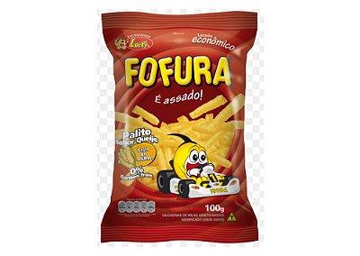 SALGADINHO FOFURA PALITO SABOR QUEIJO 100g