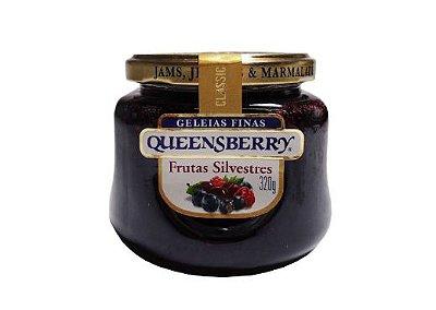 Geleia Fina QueensBerry sabor Frutas Silvestres 320g