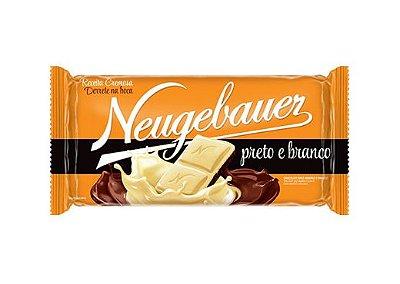 Barra de Chocolate Neugebauer preto e branco 90g