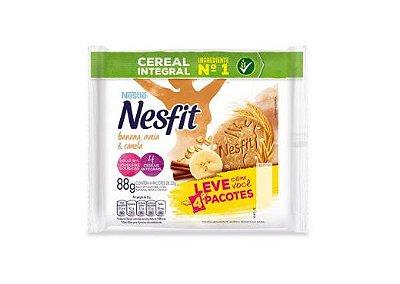 Biscoito Nesfit Integral com Banana, Aveia e Canela Nestle 88g