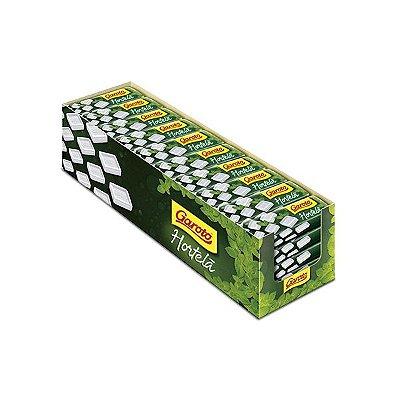 Pastilha Garoto Hortelã contendo 40 unidades de 17g cada