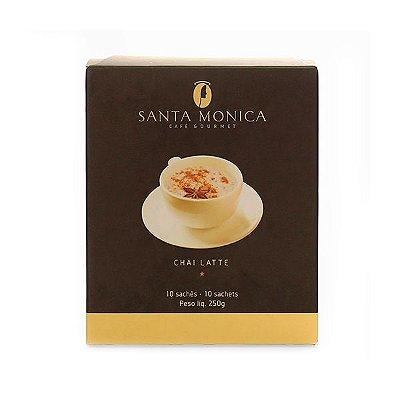 Chai latte Santa Monica Contendo 10 Sachês