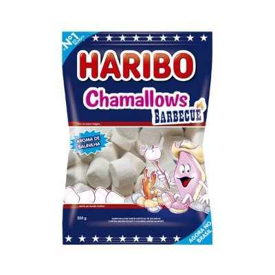 Marshmallow Haribo Chamallows Barbecue Churrasco 80G