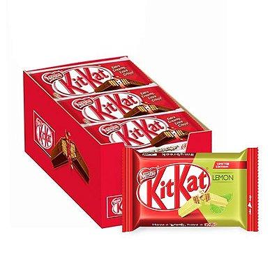Kit Kat Limão contendo 24 unidades