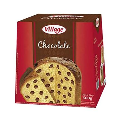 Panetone com Chocolate Village 500g