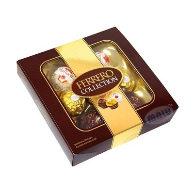 Bombom Ferrero Rocher Collection contendo 7 bombons