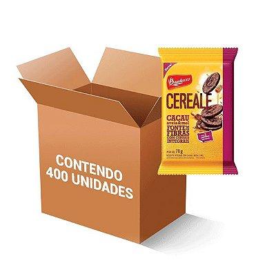 Biscoito Bauducco Cereale Cacau, Aveia & Mel Integrais Contendo 400 Saches De 12,5g Cada