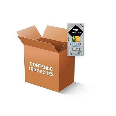 Molho para Salada tipo Caesar Sachê Junior contendo 180 unidades de 18g
