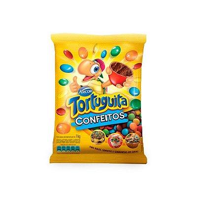Confeitos de Chocolate Tortuguita Arcor 1kg