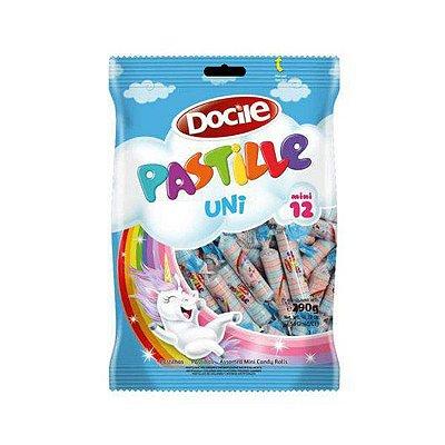 Pastilha Mini Unicórnio Docile Pastille contendo 50 drops com 12 unidades - 290g