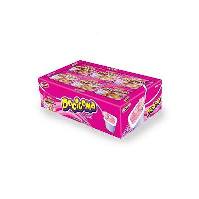 Bala de Goma Iogurte Docile Docigoma contendo 25 pacotes de 20g