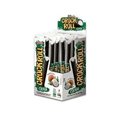 CrockRoll Cocada Peccin contendo 30 unidades