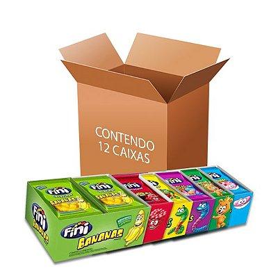 Bala Fini Sortidas contendo 12 caixas