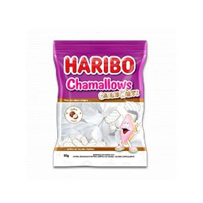 Marshmallow Branco sabor Coco Haribo Cables White 250g