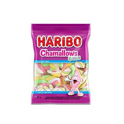 Marshmallow Colorido Haribo Cables 250g