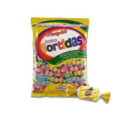 Bala Mastigável Sortida Frutas Mastydoll Confirma 400g
