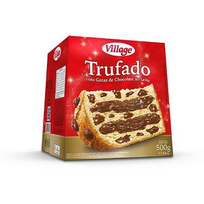 Chocotone Village Trufado com Gotas de Chocolate ao leite 500g
