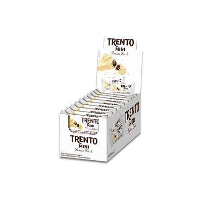 Trento Mini Branco-Dark contendo 20 embalagens com 2 unidades cada