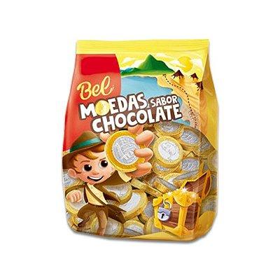 Moedas sabor Chocolate Bel 500g (média de 120 unidades)