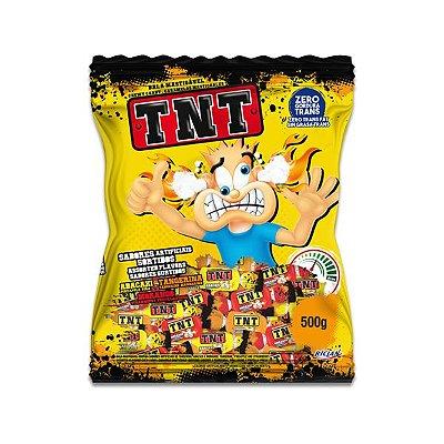 Bala TNT Recheada e Mastigável Riclan 500g