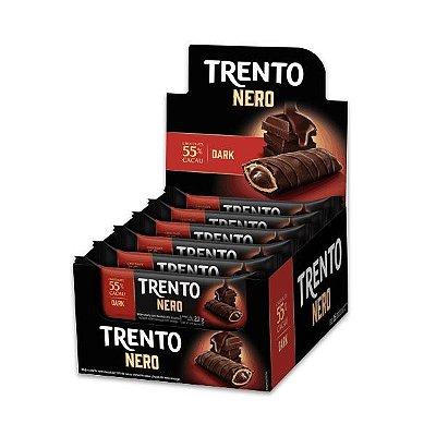 Trento Nero 55% Cacau e Dark Peccin contendo 16 unidades de 22g cada