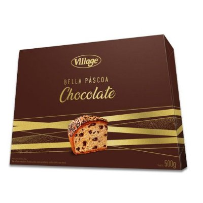 Colomba com Gotas de Chocolate Village 500g