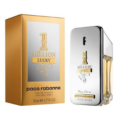 1 Million Lucky Paco Rabanne - Perfume Masculino - Eau de Toilette