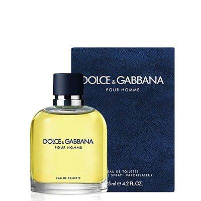 Dolce & Gabbana Pour Homme - Perfume Masculino - Eau de Toilette