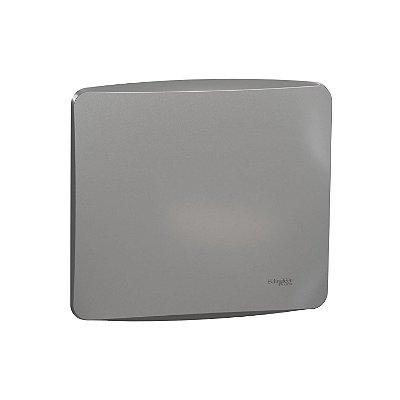 Placa Cega 4X4 com Suporte - Alumínio - Miluz - S3B77402 - Schneider Electric