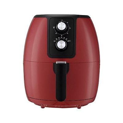 Fritadeira Elétrica Air Fryer 3,6 Litros Vermelha - Supremma FESV -  Agratto