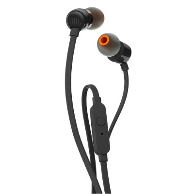 Fone de Ouvido Intra Auricular JBL T110 In-Ear Microfone Preto
