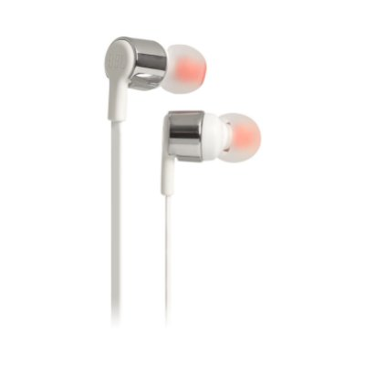 Fone de Ouvido Intra Auricular JBL T210 In-Ear Microfone Prata