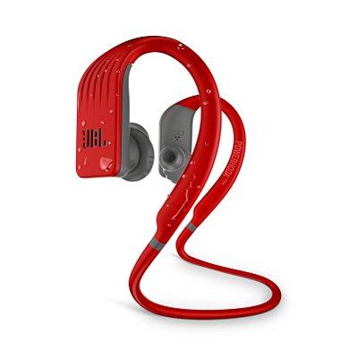 Fone de Ouvido Esportivo JBL Endurance Jump À Prova D'água Bluetooth - Vermelho