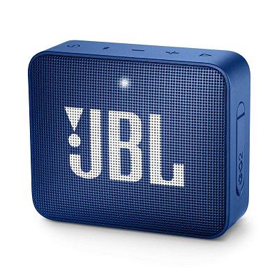 Caixa de Som Bluetooth JBL Go 2 À Prova D'água Azul