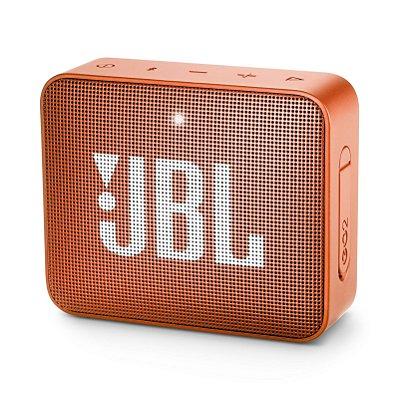 Caixa de Som Bluetooth JBL Go 2 À Prova D'água - Laranja