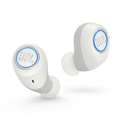 Fone de Ouvido Bluetooth JBL Free X Wireless Branco