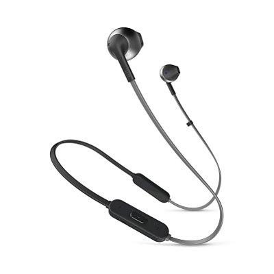 Fone de Ouvido Bluetooth JBL T205BT In-Ear com Microfone Preto