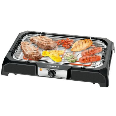 Churrasqueira Elétrica Mondial Grand Steak & Grill CH-05 Preto - 127V
