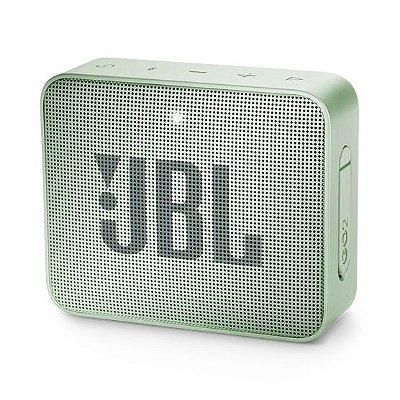 Caixa de Som Bluetooth JBL Go 2 À Prova D'água - Mint