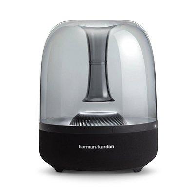 Caixa de Som Bluetooth Harman Kardon Aura Studio 2 60 RMS Iluminação Ambiente - Preto