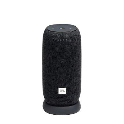 Caixa de Som Bluetooth JBL Link Portable 20 RMS Assistente de Voz À Prova D'água Preto