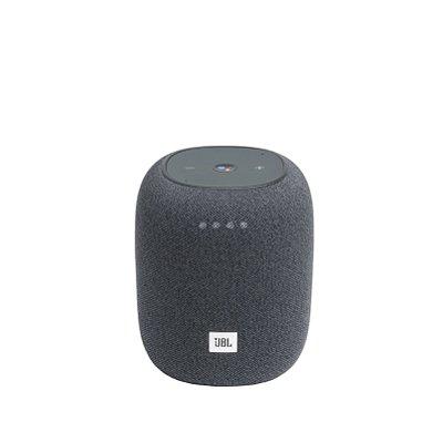 Caixa de Som Bluetooth JBL Link Music 20 RMS Assistente de Voz - Cinza